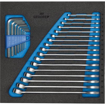 Nástrojový modul CT2/3 Otevřený očkový klíč, rovný GEDORE