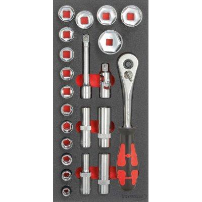 """Modul pro nástroje 1/3 Nástrčný klíč 1/2"""" FORMAT"""