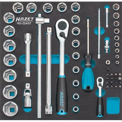Modul pro nástroje 163-224/57 Nástrčný klíč HAZET