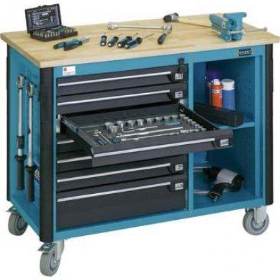 Pojízdný pracovní stůl 179W-7 970x1150x600mm HAZET
