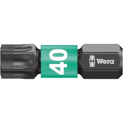 """Bit Impaktor 1/4"""" DIN3126C6,3 T40x25mm Wera"""