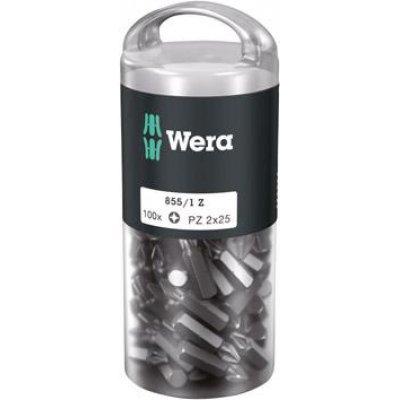 """Bit 1/4"""" DIN3126E6,3 PZ2x25mm, balení 100 ks Wera"""