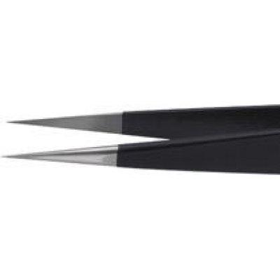 Pinzeta ESD 130mm černá KNIPEX