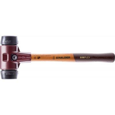 Kladivo s měkkým čelem SIMPLEX pryž 30mm HALDER