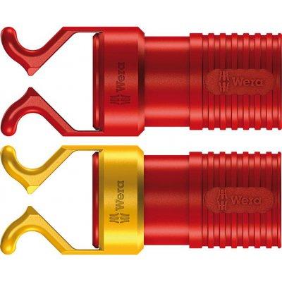 Šroubovací svorka VDE, červená 2 ks/balení Wera