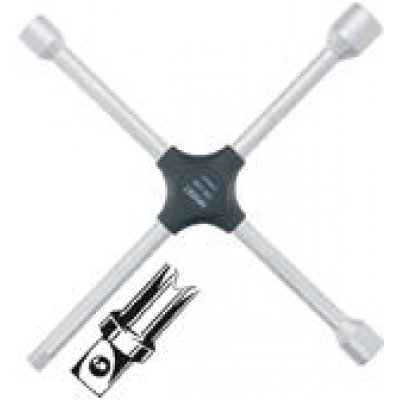 """Křížový klíč pro osobní auta 6hran 17x19x22mmxDIN 3120 1/2"""" vnější HAZET"""