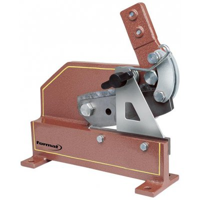nůžky na plech a kruhovou ocel 180mm FORMAT