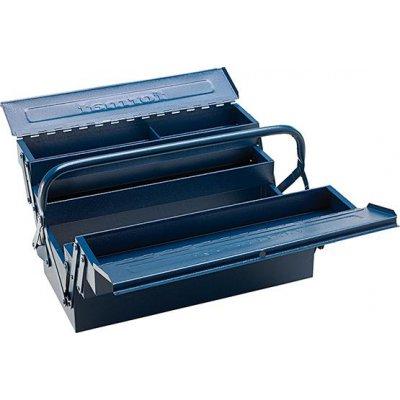Skříňka na nářadí, ocelový plech 430x200x200mm 5-částí FORMAT