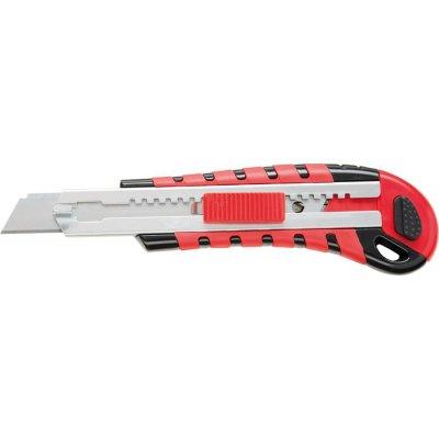 Nůž Cutter se zásobníkem 6 čepele 18mm FORMAT