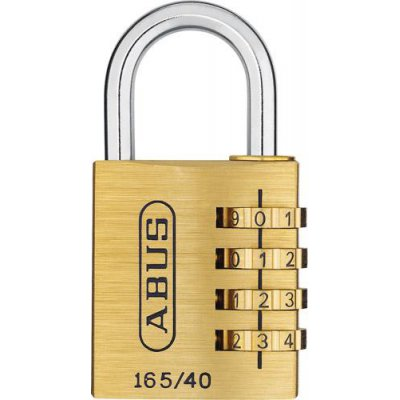 Visací číslový zámek 165/40 4-ciferný kód ABUS