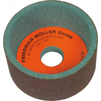 Hrncový brusný kotouč karbid křemíku 100x50x20mm K80 Müller