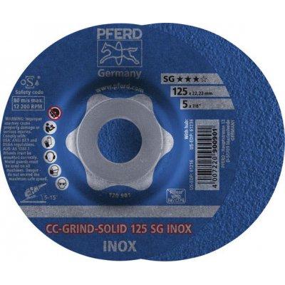 Brusný kotouč CC-GRIND Solid INOX 125mm PFERD