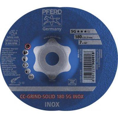 Brusný kotouč CC-GRIND Solid INOX 180mm PFERD