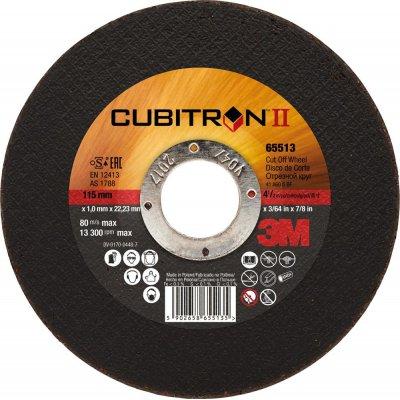 Dělicí kotouč Cubitron II rovný 125x1mm 3M
