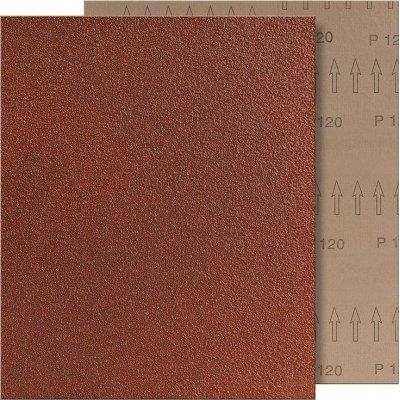 Brusné plátno 230x280mm K120 hnědé FORMAT