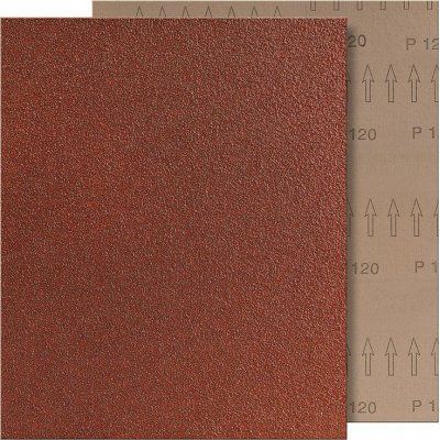Brusná tkanina 230x280mm K120 hnědé VSM
