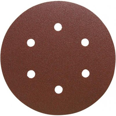 Brusný kotoučový výsek na suchý zip, na dřevo 150mm K320 6 otvorů FORMAT