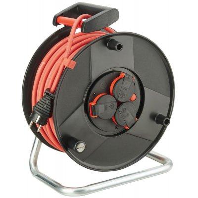 Buben na kabely, plast otočný kontakt H05RR-F3G1,5 50m FORMAT