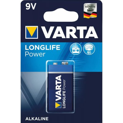 Batterie LONGLIFE Power 9 V e-block 1 kus v blistr ks. VARTA