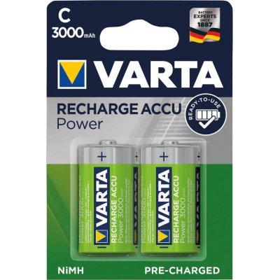 Baterie RECHARGEABLE aku C 3000mAh VARTA