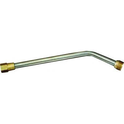 Spojovací trubka propan zahnutá 60° 130mm GCE