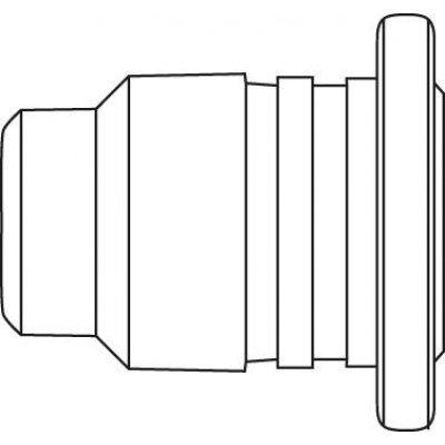 Opalová tryska 0G132BE/SB pro sadu pájení plynem Independent Ersa