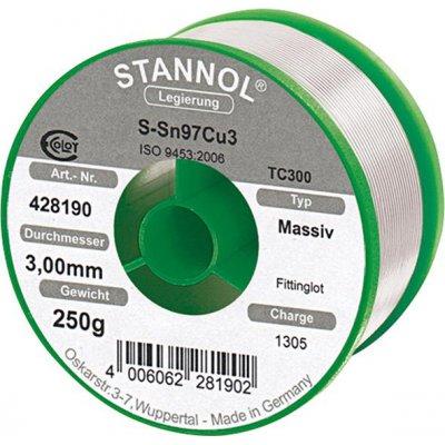 Pájka na tvarovky 428190 250g O3mm Stannol