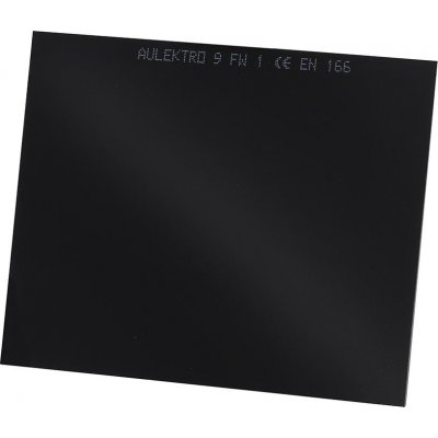 Ochranné svářečské sklo DIN9 90x110mm