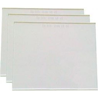 Vnější sklo DIN 90x110mm čiré