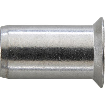 Matice na trhací nýty, INOX A2 zápustná hlava 90° M4x6x13mm GESIPA