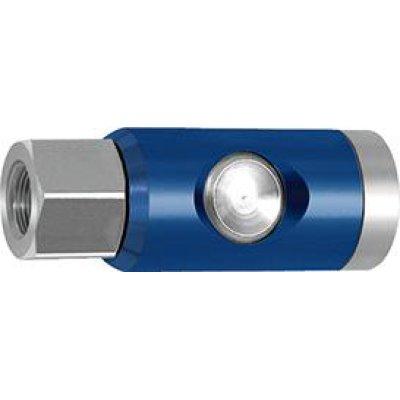 """Bezpečnostní spojka a tlačítko otočné 7,4mm, vnitřní závit G 1/4"""" RIEGLER"""