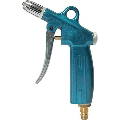 Vyfukovací pistole blow-line a tryska na tlumení hluku. a zástrčka spojky DN 7,2 RIEGLER