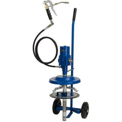 Pneumatická sudová pumpa s maznicí na kbelík 10kg PRESSOL