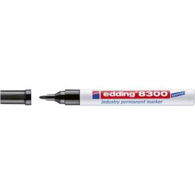 Průmyslový permanentní popisovač 8300 černá edding