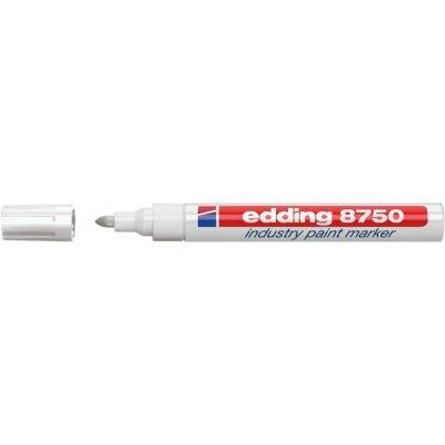 Průmyslový lakovací značkovač 8750 bílá edding