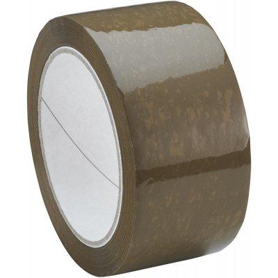 Balicí páska F290 polypropylen a lepidlo z přírodního kaučuku 50mmx66m hnědá