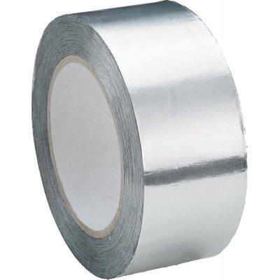 Lepicí páska Klebeband AF080 hliník, bez fólie 50mmx50m