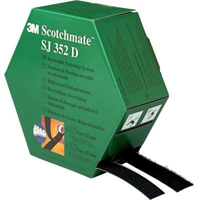 Hákový a poutkový pás Scotchmate SJ352D 25,4mmx5m 3M