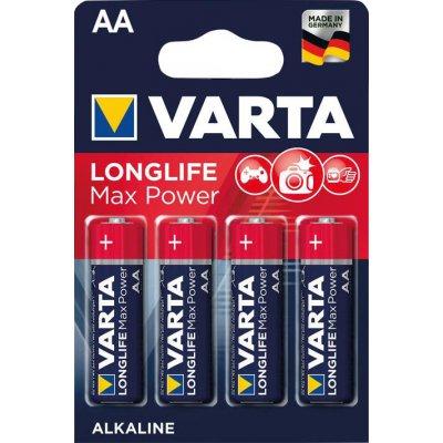 Baterie MAX TECH AA DE, 4 ks. v blistr balení VARTA