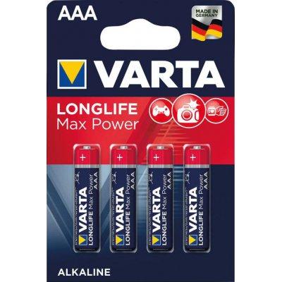 Baterie MAX TECH AAA DE, 4 ks v blistr balení VARTA