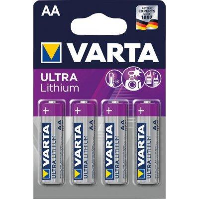 Baterie Professional Lithium AA 4 ks. v blistr ks. VARTA