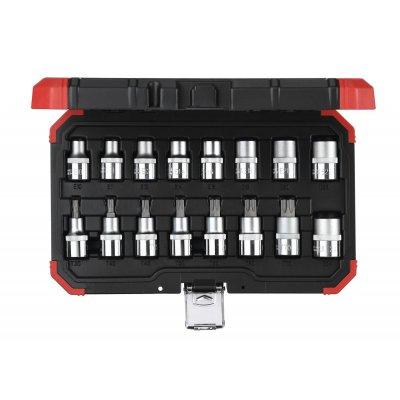 Sada nástrčných klíčů 1/2 TX E10-24T30-70 16 dílů Gedore RED