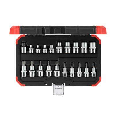 Sada nástrčných klíčů 1/2 TX 20 dílů Gedore RED