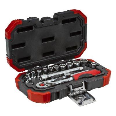 Sada nástrčných klíčů 1/4 klíčový otvor 4-13mm 16 dílů Gedore RED