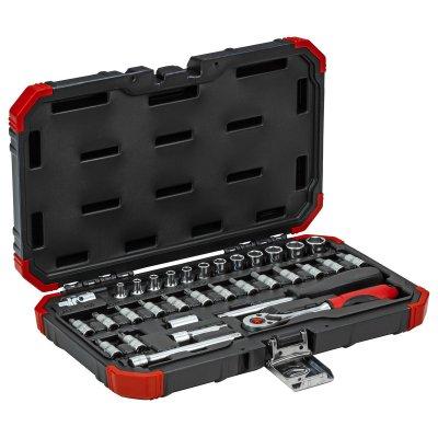 Sada nástrčných klíčů 1/4 klíčový otvor 4-13mm 33 dílů Gedore RED