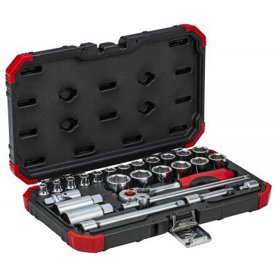 Sada nástrčných klíčů 3/8 klíčový otvor 6-24mm 26 dílů Gedore RED