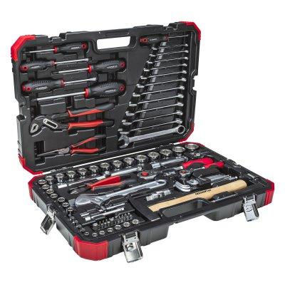 Sada nástrčných klíčů 1/4 + 1/2 10-32 mm 100 dílů Gedore RED
