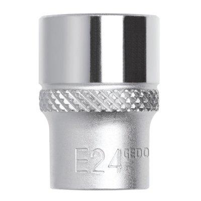 Nástrčný klíč 1/2 TX E22 délka 40mm Gedore RED