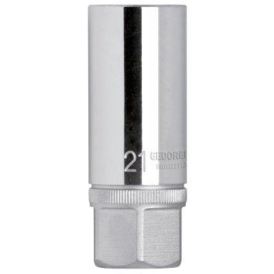 Hlavice na zapalovací svíčky 1/2 klíčový otvor 20,8mm s magnetem Gedore RED