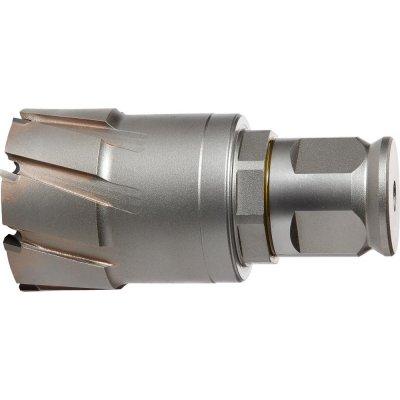 Jádrový vrták QuickIN Max tvrdokov jemný stopka Weldon 72/50mm FEIN